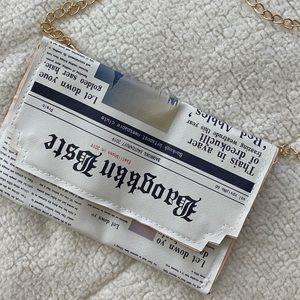 Handbags - NEWSPAPER STYLE HANDBAG